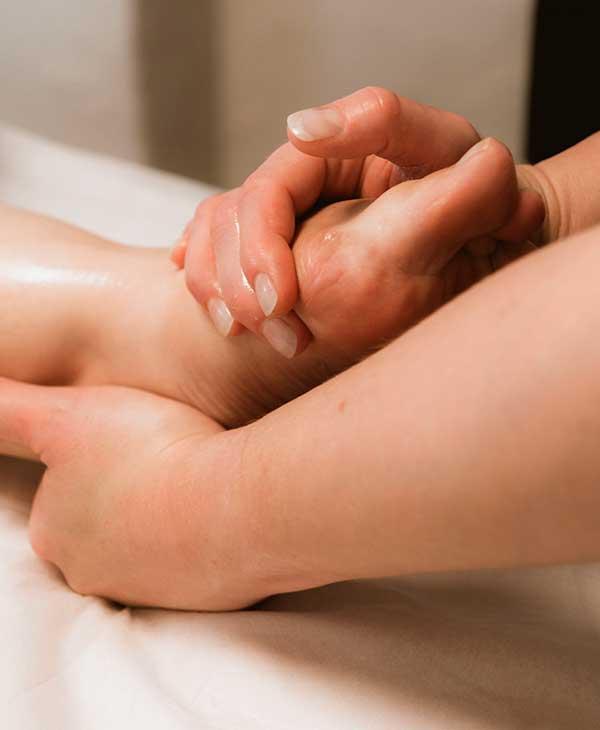 Effektiv fodmassage